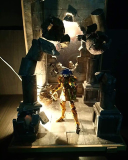 Mythcloth Dioramas Saint Seiya