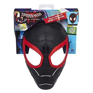 Máscara Eletrônica Miles Morales Hero Fx Mask Hasbro