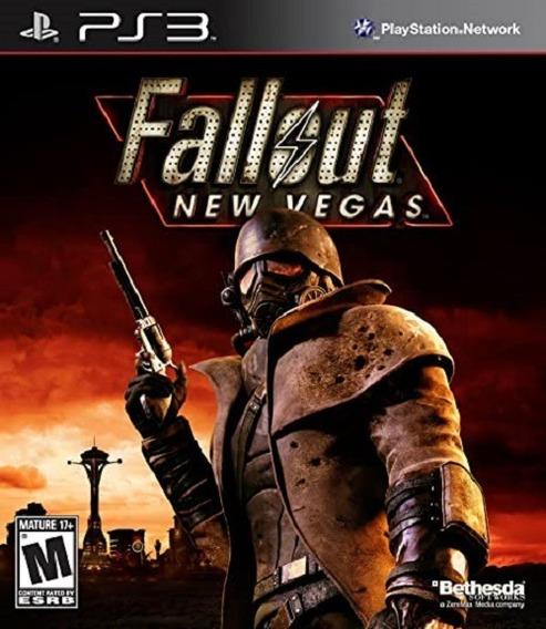 Jogo Fallout New Vegas Ps3 M. Fisica