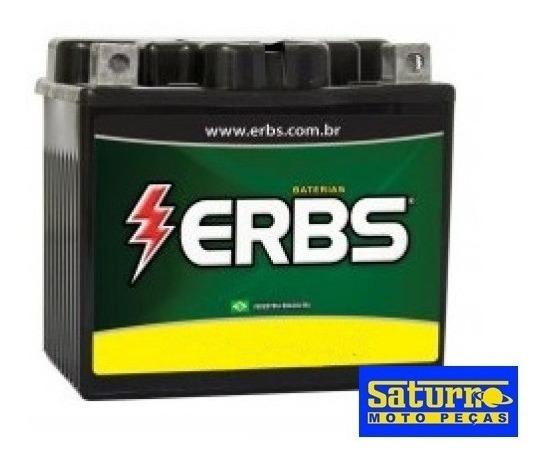 Bateria Moto Erbs Erx-6bs Xre300 Fan Bros Titan 150 6ah