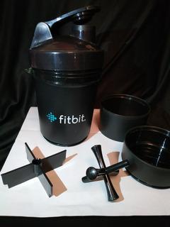 Cilindro Vaso Termo Mezclador Para Bebida O Proteina Fitbit