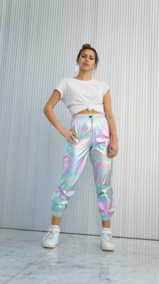 Pantalon Rainbow Iridiscente
