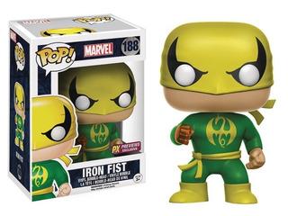 Funko Pop #188 Iron Fist - Marvel - Px Exclusive - Original
