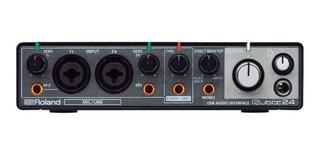Interfaz De Audio Roland Rubix24 Audio Usb 2-in 4-out
