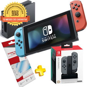 Nintendo Switch Neon + Joy-con Charging