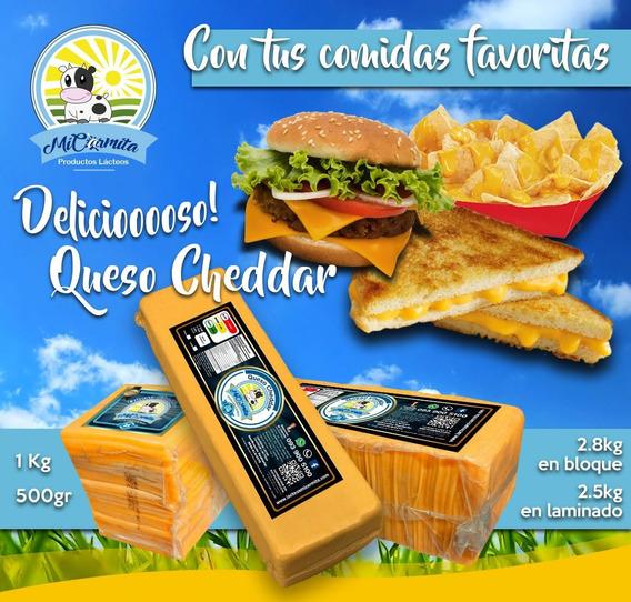 Queso Cheddar Americano - Domicilio Quito- Envio Provincias