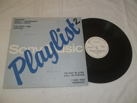 Lp Vinil - Sony Music Playlist - Mariah Carey - Surface