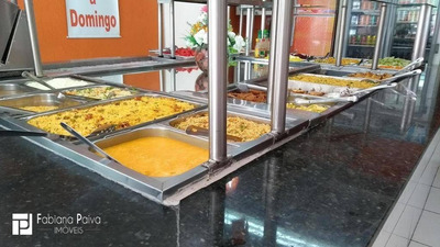 Ponto Comercial À Venda - Ramo De Atividade - Restaurante - 120 M² Por R$ 260.000 - Centro - Póa/sp - Pt0001