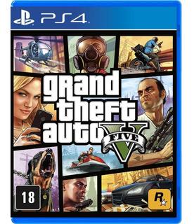 Jogo Grand Theft Auto V - Gta 5 - Ps4