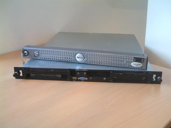 Servidor Dell Poweredge 750 Intel Pentium 4 512 Mb Ram 80 Hd
