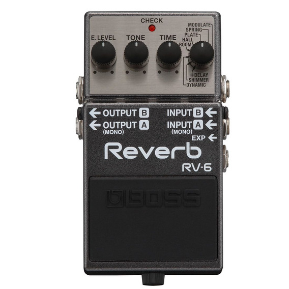 Pedal Boss Rv 6 Reverb