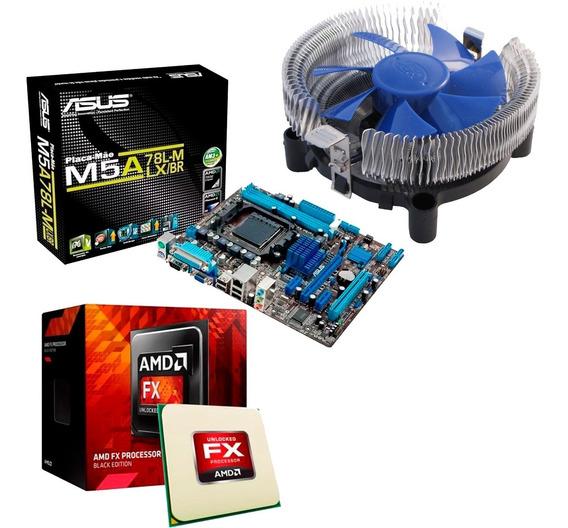 Kit Asus M5a78l-m Lx + Processador Amd Fx-6300 6 Core 3.5ghz