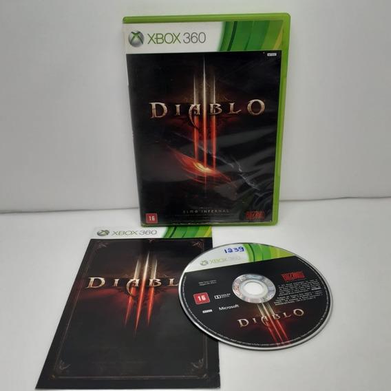 Jogo Diablo 3 Xbox 360 Semi Novo Testado