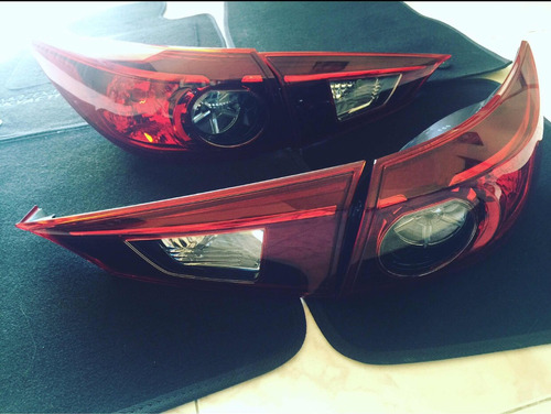 Luces Stop Mazda 3 Skyactiv 2014-2019 No Led!