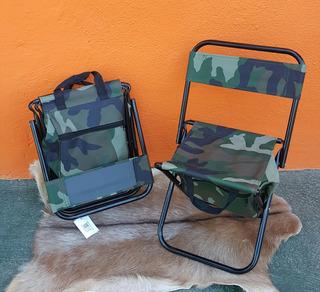 Silla Mini Plegable Para Camping, Outdoor , Pesca