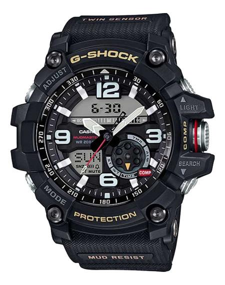 Relógio Casio G-shock Mudmaster Masculino Preto Gg-1000-1adr