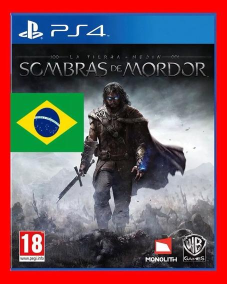 Sombras De Mordor Para Ps4 Original 1 Garantia