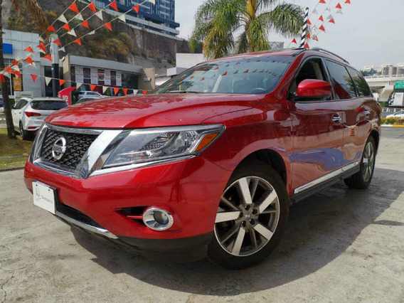 Nissan Pathfinder 2014 5p Exclusive V6/3.5 Aut