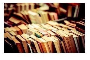 Lote De 100 Livros Usados Para Sebos Bibliotecas
