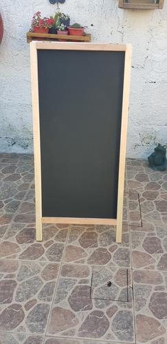 Imagen 1 de 3 de Pizarron Para Comercios Doble  60 X 100