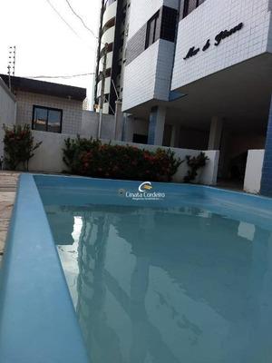 Apartamento Garden Com 3 Dormitórios À Venda, 90 M² Por R$ 259.000 - Jardim Oceania - João Pessoa/pb - Gd0016