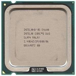 Processador Intel Core 2 Duo E4600 2.40ghz 2m Cache