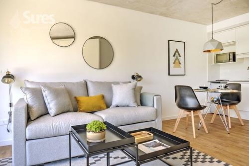 Apartamentos Alquiler Punta Carretas Montevideo Monoambiente Equipado A Estrenar Frente Al Parque Villa Biarritz