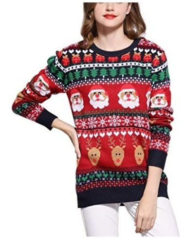Ugly Sweater Navidad Mujer