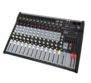 Consola De Audio 12 Canales Efectos Usb Sd E-sound Mp-1202u
