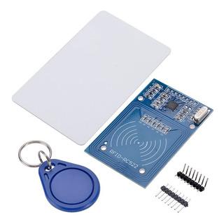 Módulo Leitor Rfid Rc522 + Cartão + Chaveiro Prog Arduino