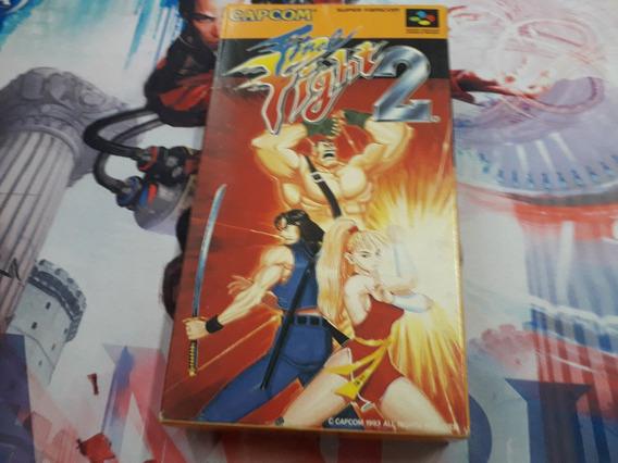 Final Fight 2 Cib Super Famicom Snes Capcom