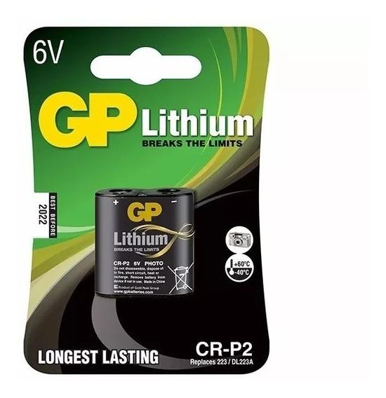 Bateria Gp Cr-p2 Lithium 6v
