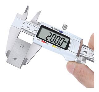 Calibrador Digital Electrónico De Acero Inoxidable.