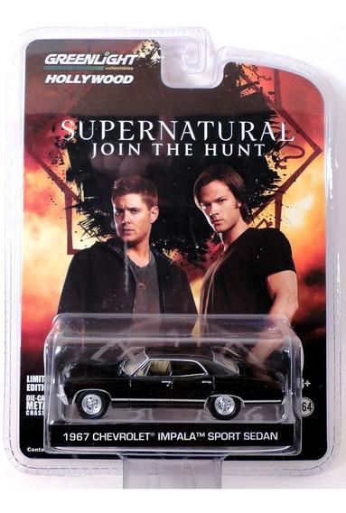 1967 Chevy Impala Ss Supernatural Sobrenatural Greenlight