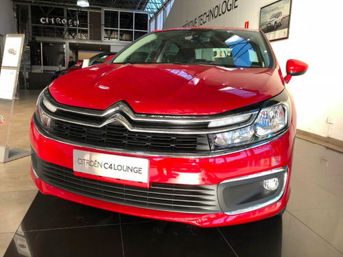 Citroën C4 Lounge Feel Pack Rojo 4 Puertas 0km