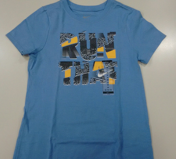 Remera Nike Niña Run That
