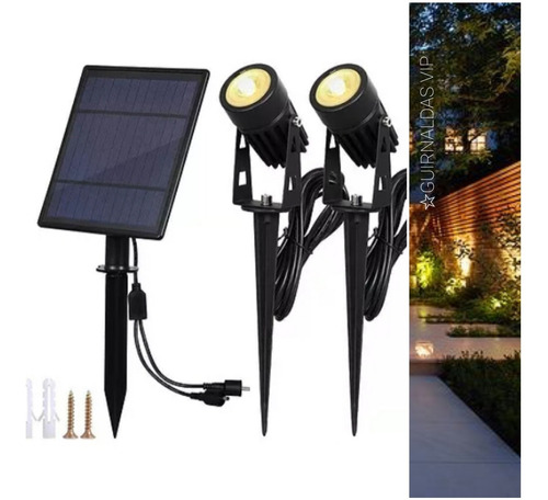 2 Estacas Solares Jardin Ideal Eventos Iluminan Super