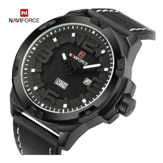 Relógio Masculino Naviforce 9100 Original Quartzo Fr Grátis