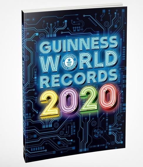 Livro Guinness World Records 2020 Original Novo Lacrado