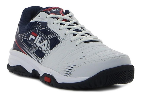 Fila Tenis Top Spin 2.0 Hombre White/navy/red