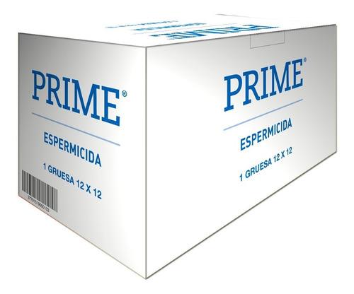 Preservativos Prime Espermicida X144 Unidades Menor Riesgo
