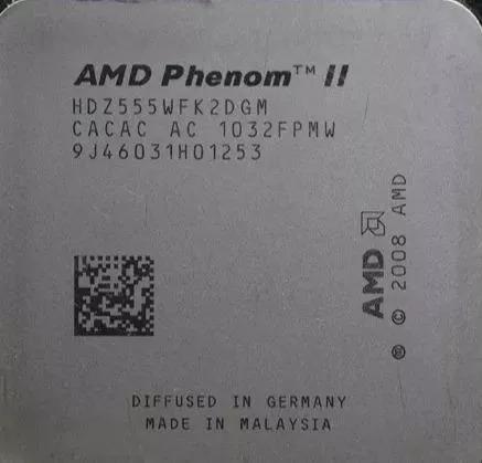 Processador Am3 Amd Phenom Ii X2 3.2ghz 6m L2 Ddr3