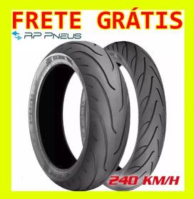 Par De  Pneus Moto 160/60-17 69v E 120/70-17 58v - Technic