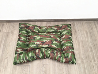 Cama Colchón Impermeable Camuflaje Perro Gato 90 X 67 X 14cm