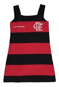 Vestido Flamengo Slim Infantil