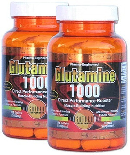 Glutamine 1000 Mg X 120 Tabletas Saturn Supplements Usa