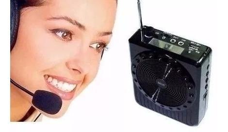 Megafone Amplificador Voz Microfone Fm Oferta Imperdivel