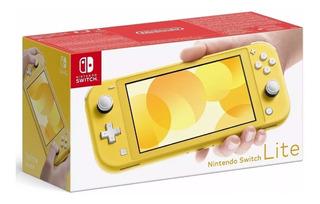Nintendo Switch Lite Amarilla Original Cerrada Ya En Stock!!