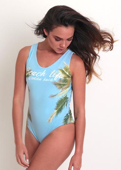 Traje De Baño Entero Donna Kuin Beach Life Talla S