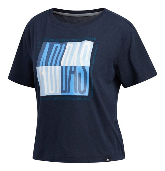 Remera adidas Training Essential Global Citizen Mujer Mn